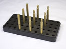 6mm Brass Dop Stick Set - 10 Piece