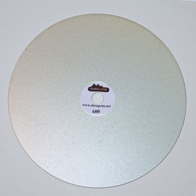 "Diamond Lap 6"" (150mm) 600 Grit"